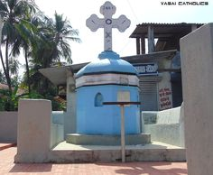 Cross at Gun Naka, Giriz, Vasai West.