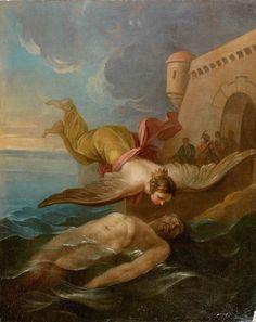 "silenceforthesoul: "" Carle Van Loo - Ceyx Et Alcyone, 1750 """