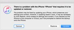 If you can't update or restore your iPhone, iPad, or iPod touch - Apple Support