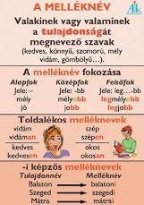 melléknév Teaching Literature, Teaching Aids, Kids Education, Special Education, Kids And Parenting, Kids Learning, Elementary Schools, Grammar, Homeschool