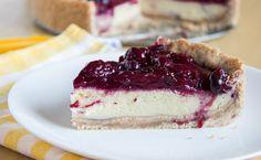 Zdravé Recepty - Cheesecake s lesným ovocím - KAMzaKRÁSOU.sk