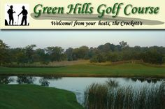 $18 for 18 Holes with Cart and Range Balls at Green Hills Golf Course in Clyde near Sandusky, Ohio