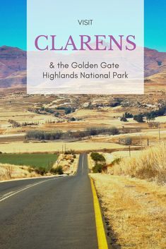 Foray into the Free State: A weekend in Clarens & Golden Gate Highlands National Park — Acacia Diaries Visit South Africa, Time To Leave, Free State, Africa Travel, Hiking Trails, Golden Gate, Weekend Getaways, Small Towns, Brewery