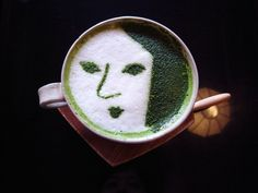 Matcha Latte Art by Yojiya (Kyoto, Japan)|ラテアート