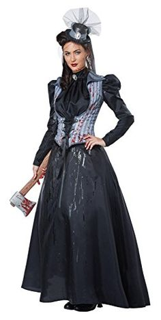 07a75860b7 Adult Lizzie Borden Axe Murderess Costume    Check this awesome product by  going to the