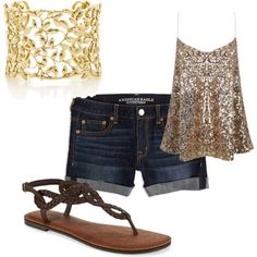 """Summer Outfit"" by saragivens111 on Polyvore"