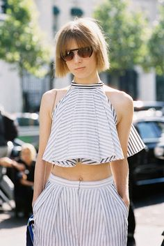 Paris Fashion Week SS 2014....Vika - Vanessa Jackman