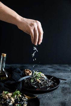 Wild Mushroom Tagliatelle — The Cornish Chef