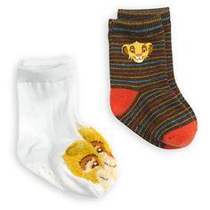 Disney Simba Sock Set for Baby - - The Lion King Disney Baby Clothes, Cute Baby Clothes, Baby Disney, Lion King Nursery, Lion King Baby Shower, My Little Baby, Mom And Baby, Baby Socks, Baby Boy Fashion