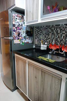 antes e depois do nosso apartamento - apartamentos pequenos - cozinhas - cozinhas pequenas kitchen small kitchens