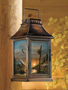 Flying Free Lantern By Terry Redlin Metal Candle Lanterns Candle Lanterns Metal Candle