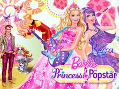 Barbie The Princess & The Popstar (2012) - Cartoons for Children in Engl...