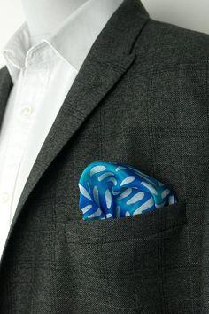 Pochette En Coton Pour Hommes Carré - Mouchoir Pinguin S Par Vida Vida cDaqX