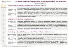 Inauguration QVT