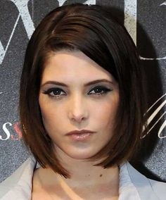 Modern Bob Hairstyles with Side Bangs