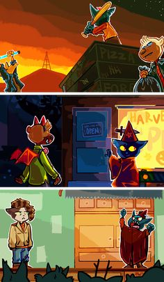 Want to discover art related to nitw? Check out inspiring examples of nitw artwork on DeviantArt, and get inspired by our community of talented artists. Night In The Wood, Woodland Creatures, Video Game Art, The Villain, Furry Art, Wood Art, Mammals, Character Design, Sketches