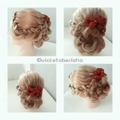 #hair #style #updo