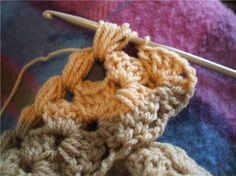 Tığişi Bebek Battaniyesi Modeli