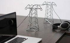 Faça dos fios do computador uma mini rede elétrica