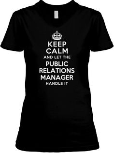Limited Edition PUBLIC RELATIONS MANAGER