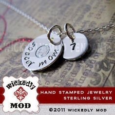 Love these hand stamped jewelry