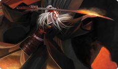 Daigotsu Yori L5R Play Mat for Legend of the Five Rings LCG CCG Steve Argyle