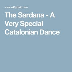 The Sardana - A Very Special Catalonian Dance