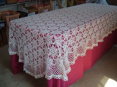 """crochet table cloth"" - DealTime"