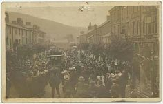 The first carin llanidloes,1910