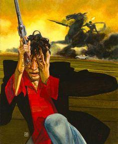 Dylan Dog - Exposition by davidedecubellis on DeviantArt Dylan Dog, Survival, Deviantart, Gallery, Illustration, Dogs, Painting, Fictional Characters, Sky