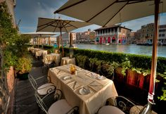 Sample the culinary delights of Ca 'Sagredo Hotel, Venice. Enjoy traditional Venetian cuisine, accompanied with the perfect Italian wine, as you are surrounded with views of Venice's stunning Grand Canal. As you dine in luxury, enjoy the views of Rialto Market and the beautiful architecture of Venice.