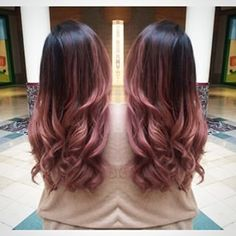 rose gold ombre - Google Search