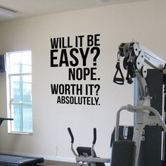 Us 767 28 Off Absolutely Fitness Motivation Wall Quotes Poster Decals Large Gym Kettlebell Crossfit Boxing Decor Letters Wall Sticker In Wall Home Gym Decor, Gym Room At Home, Fitness Motivation Wall, Cycling Motivation, Home Gym Design, Crossfit Gym, Crossfit Quotes, Gym Quote, Letter Wall Stickers