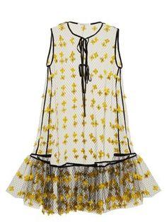 Aline floral-embellished sheer dress | Cecilie Bahnsen | MATCHESFASHION.COM US