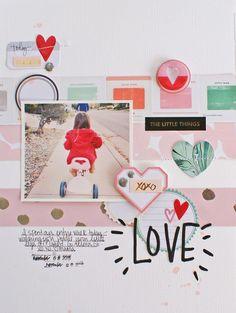 Love by MichelleWedertz at @studio_calico