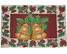 Home Traditions Christmas Tapestry Placemat Set 4pc- Christmas Bells Home Traditions http://www.amazon.com/dp/B00OO3EGJA/ref=cm_sw_r_pi_dp_cnerub1K3SQ4T