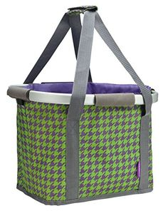 Schwinn Collapsible Handlebar Basket, Purple *** You can get additional details at the image link.