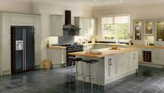 howdens kitchen island with hob - Google Search