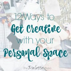 How to get creative in your own personal space, without spending a lot of cash. Make your space your own with these fun ideas!