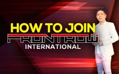 Helping you to learn more about Frontrow International products. Learn how to join and become a Frontrow distributor. Avail a discount. Become A Distributor, Earn From Home, Whitening Soap, International Teams, Marketing Techniques, People Change, Starting Your Own Business, Multi Level Marketing, Free Website