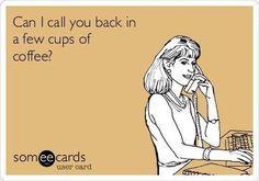 Decaf Brain? Need caffeine to think!