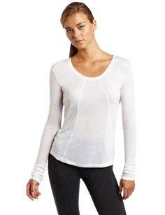 Amazon.com: Hknb Heidi Klum For New Balance Women's Long Sleeve Scoop Tee With Color Block: Clothing