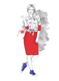 #fashionillustration #fashion #gosiazimniak