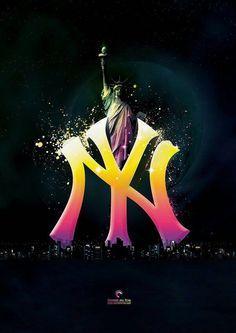 new york yankees logo - Google Search Yanquis De Nueva York 7c76091a90d