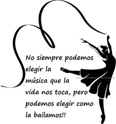 We can't choose the music that life plays in our lives, but we can choose how to dance it. What do you choose? Music Words, Quotes En Espanol, Dance Quotes, Music Quotes, Real Life Quotes, Love Others, Dance Art, Dance Ballet, Latin Dance
