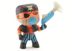 Djeco Arty Toys Jack Skull Pirate Figurine - little obsession