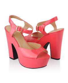 Patent Platform Sandals | FOREVER21 - 2000041562