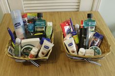 DIY Wedding Bathroom Baskets - what you need to provide for your guests and what is a waste of money! Inexpensive but well used and loved - Charleston Crafted Diy Wedding Reception, Diy Wedding Gifts, Wedding Gifts For Guests, Wedding Crafts, Wedding Receptions, Wedding Ideas, Reception Ideas, Diy Gifts, Wedding Favors