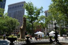Madison Square Park   East 23rd to East 26th Street and Broadway   Nearby the Dumont NYC and the Shelburne NYC