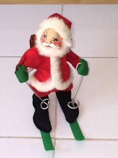 1960s annalee santa doll by spensersattic on etsy - Annalee Christmas Decorations